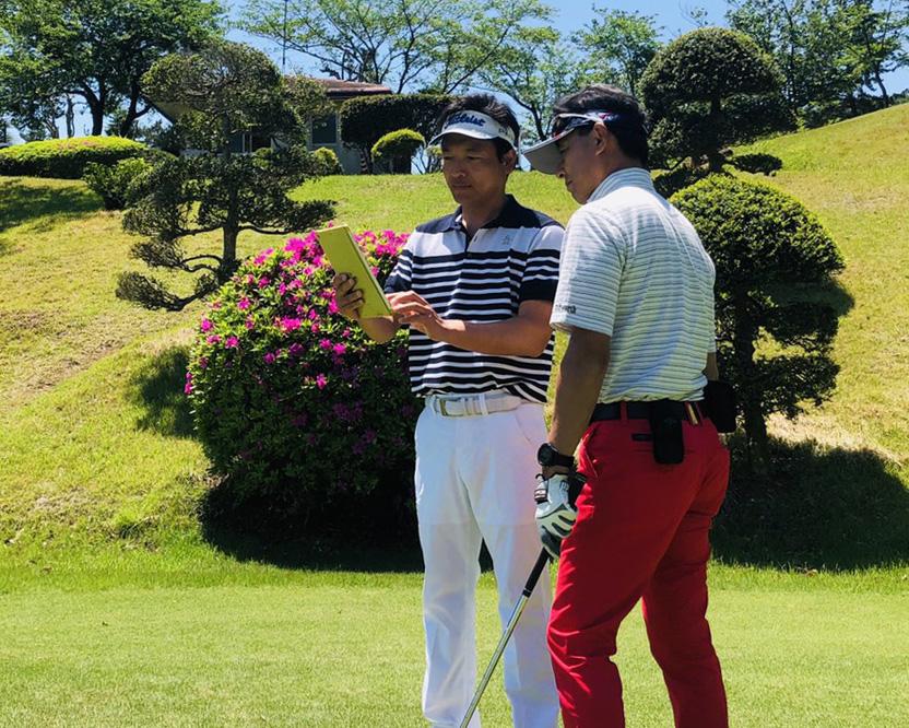 定期的にゴルフ合宿を開催